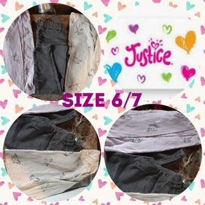 Girls size 6/7 Justice clothes